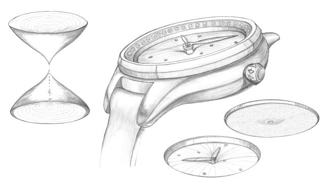 Nueva colección Q&Q 2019 - Modelo Reloj de arena